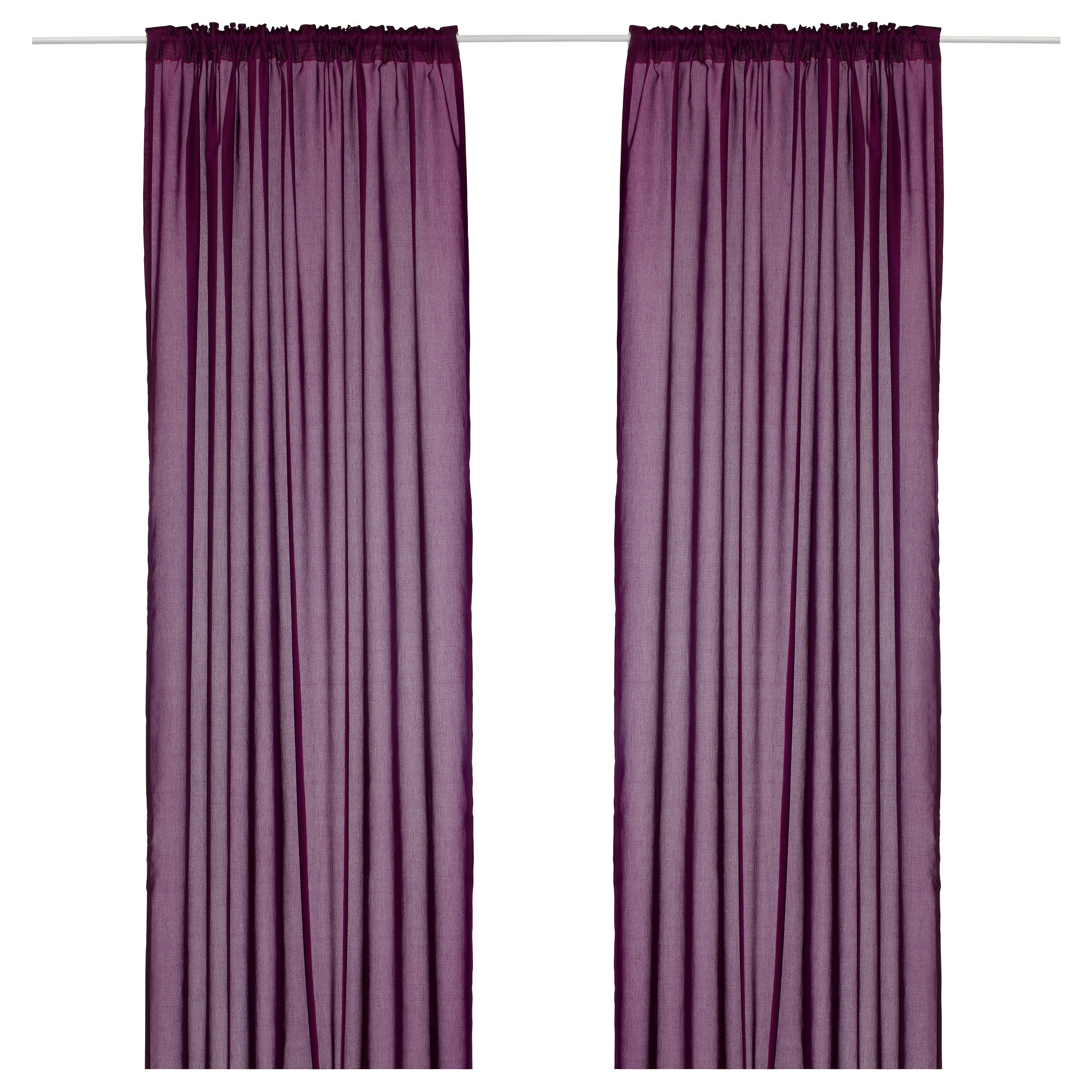Curtains - Living Room & Bedroom Curtains - IKEA - Purple Curtains Ikea