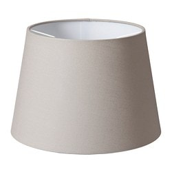 "JÄRA shade, gray Diameter: 9 "" Height: 7 "" Diameter: 23 cm Height: 16.5 cm"