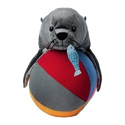 KLAPPAR CIRKUS soft toy, sealion