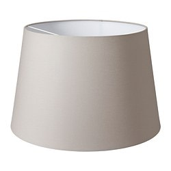 "JÄRA lamp shade, gray Diameter: 18 "" Height: 12 "" Diameter: 45 cm Height: 29.5 cm"