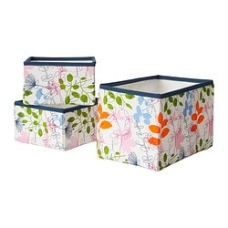 NOTUDDEN Basket, set of 3 $14.95