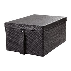 BLADIS, Box with lid, black