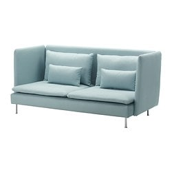 SÖDERHAMN cover three-seat sofa, high back