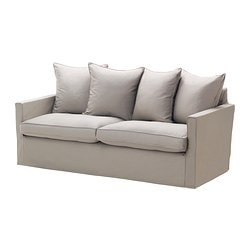 HÄRNÖSAND cover three-seat sofa, Tallåsen sand