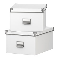 KASSETT Box with lid $6.99