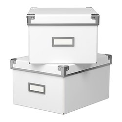 KASSETT Box with lid $7.99