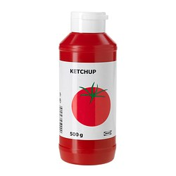 KETCHUP tomato ketchup Net weight: 17.6 oz Net weight: 500 g