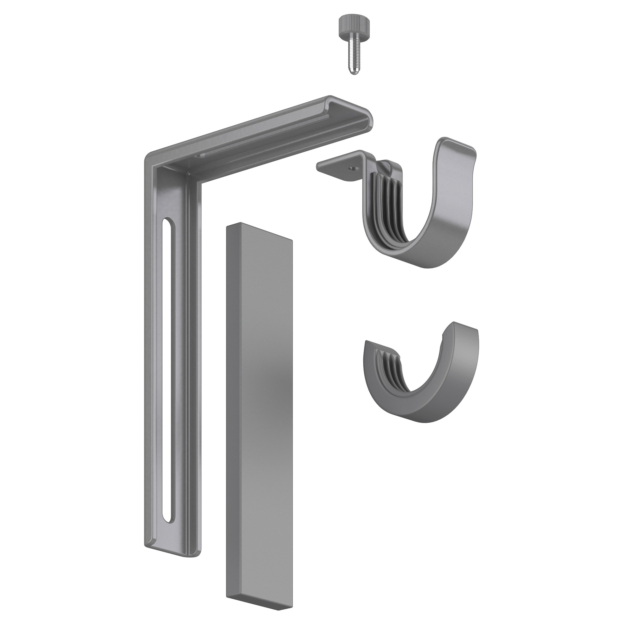 Ceiling mounted curtain rod brackets - Ceiling Mounted Curtain Rod Brackets 46