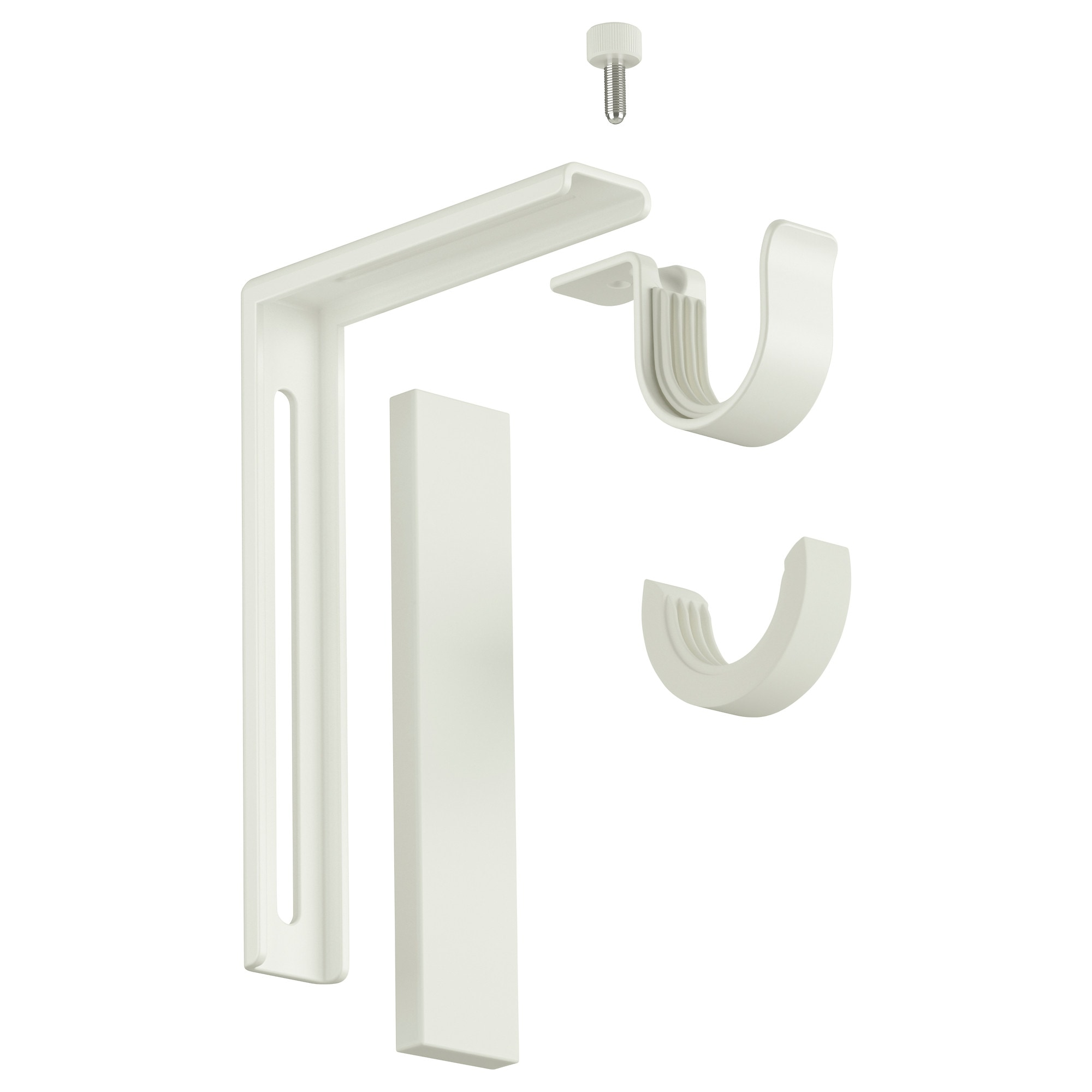Ceiling mounted curtain rod brackets - Ceiling Mounted Curtain Rod Brackets 37