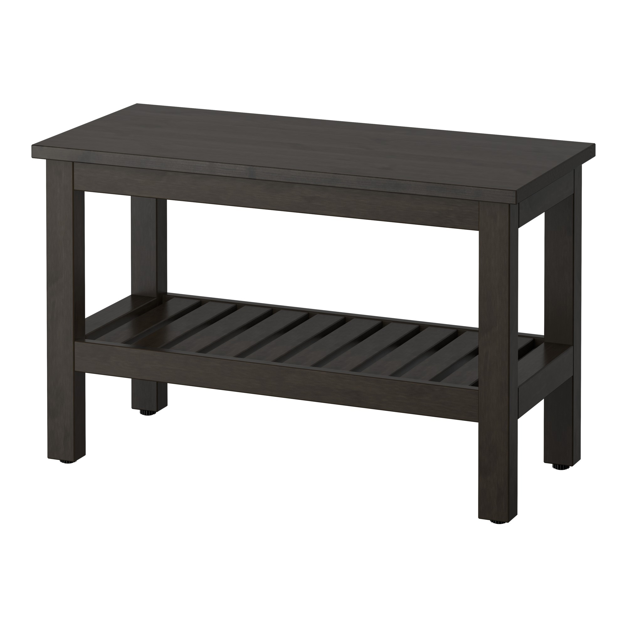 High Quality HEMNES Bench   Black Brown Stain   IKEA