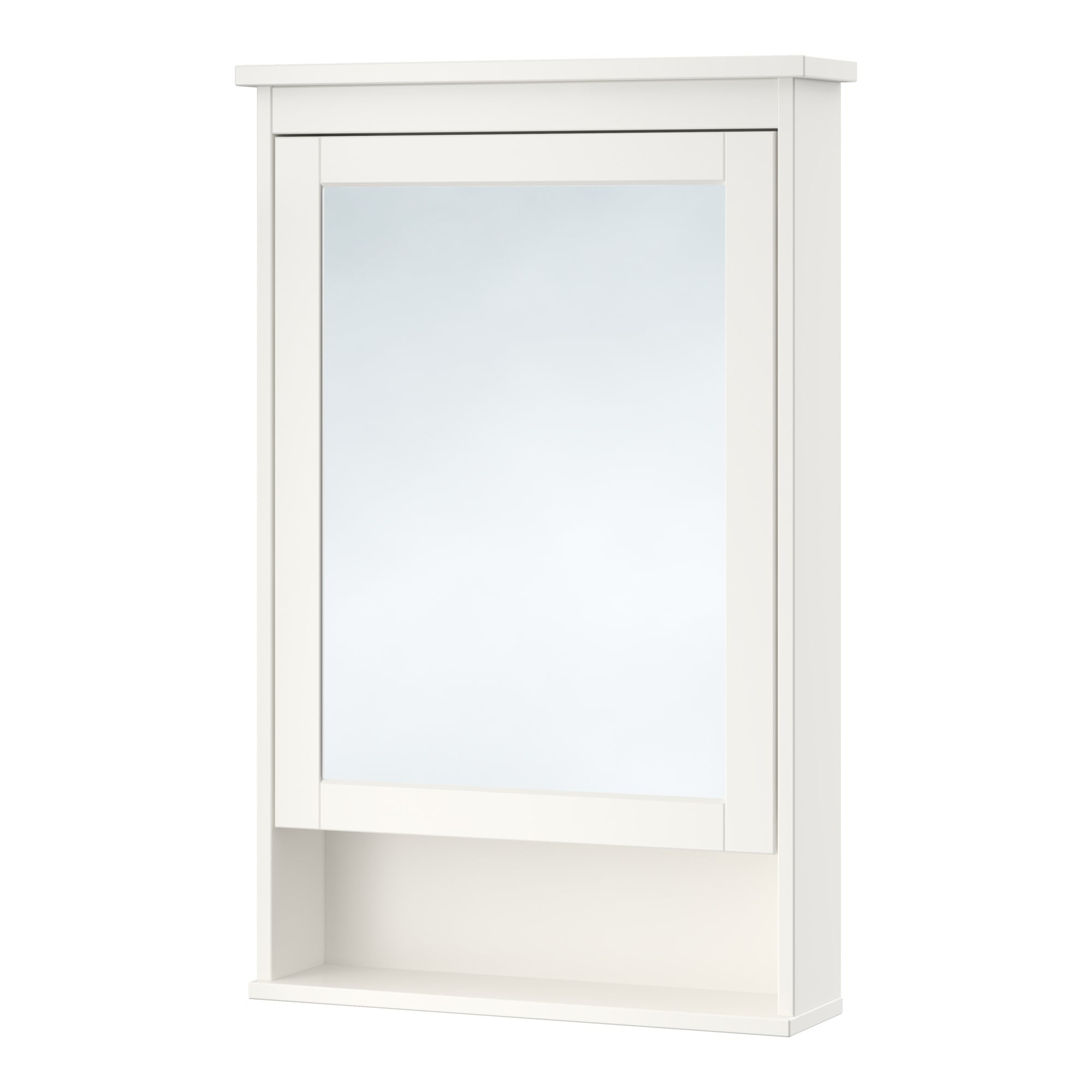 Bathroom mirror cabinets ikea - Hemnes Mirror Cabinet With 1 Door White Width 24 3 4 Depth