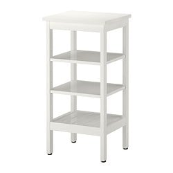 HEMNES shelving unit, white