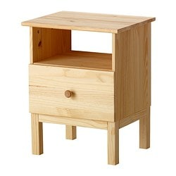 TARVA Bedside table £35