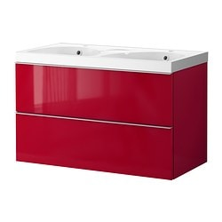 GODMORGON/EDEBOVIKEN Wash-stand with 2 drawers RM1,744