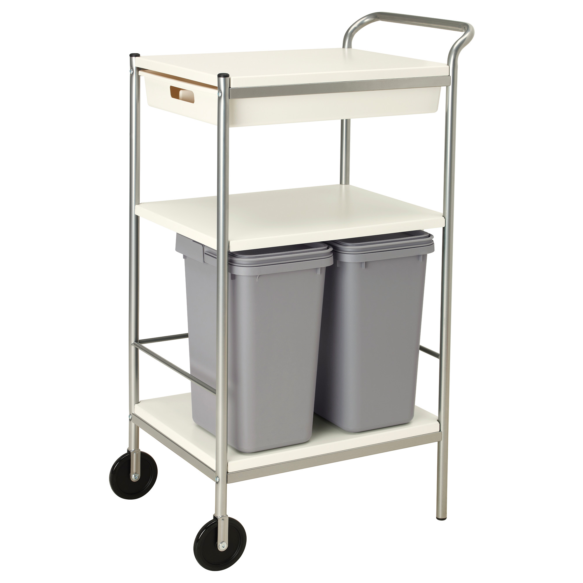 Ikea Kitchen Cart: Ikea Bygel Kitchen Utility Cart Island Organizer