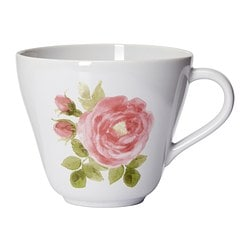 "LYDA jumbo cup, rose Height: 4 "" Volume: 20 oz Height: 11 cm Volume: 59 cl"