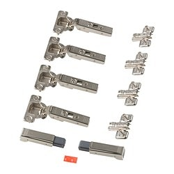 KOMPLEMENT soft closing hinge Package quantity: 4 pack Package quantity: 4 pack