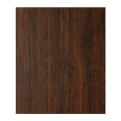 PERFEKT ROCKHAMMAR base cabinet cover panel, wood effect brown Depth: 59.5 cm Height: 70 cm Thickness: 1.3 cm