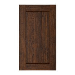 ROCKHAMMAR door, wood effect brown Width: 29.6 cm Height: 69.4 cm Thickness: 1.9 cm