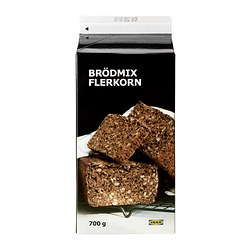 BRÖDMIX FLERKORN multigrain bread baking mix Net weight: 700 g