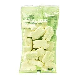 GODIS SKUM marshmallow candy Net weight: 100 g