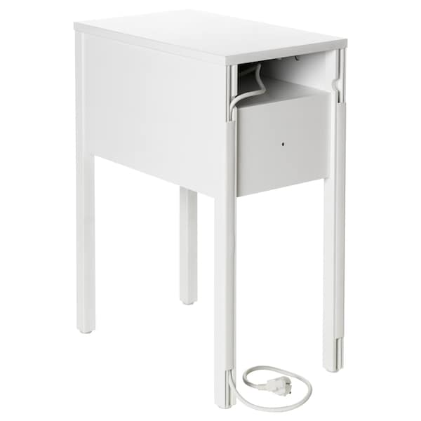 brand new 151fa 7caee Bedside table NORDLI white