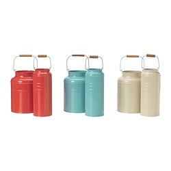 SOCKER vase, set of 2, assorted colours