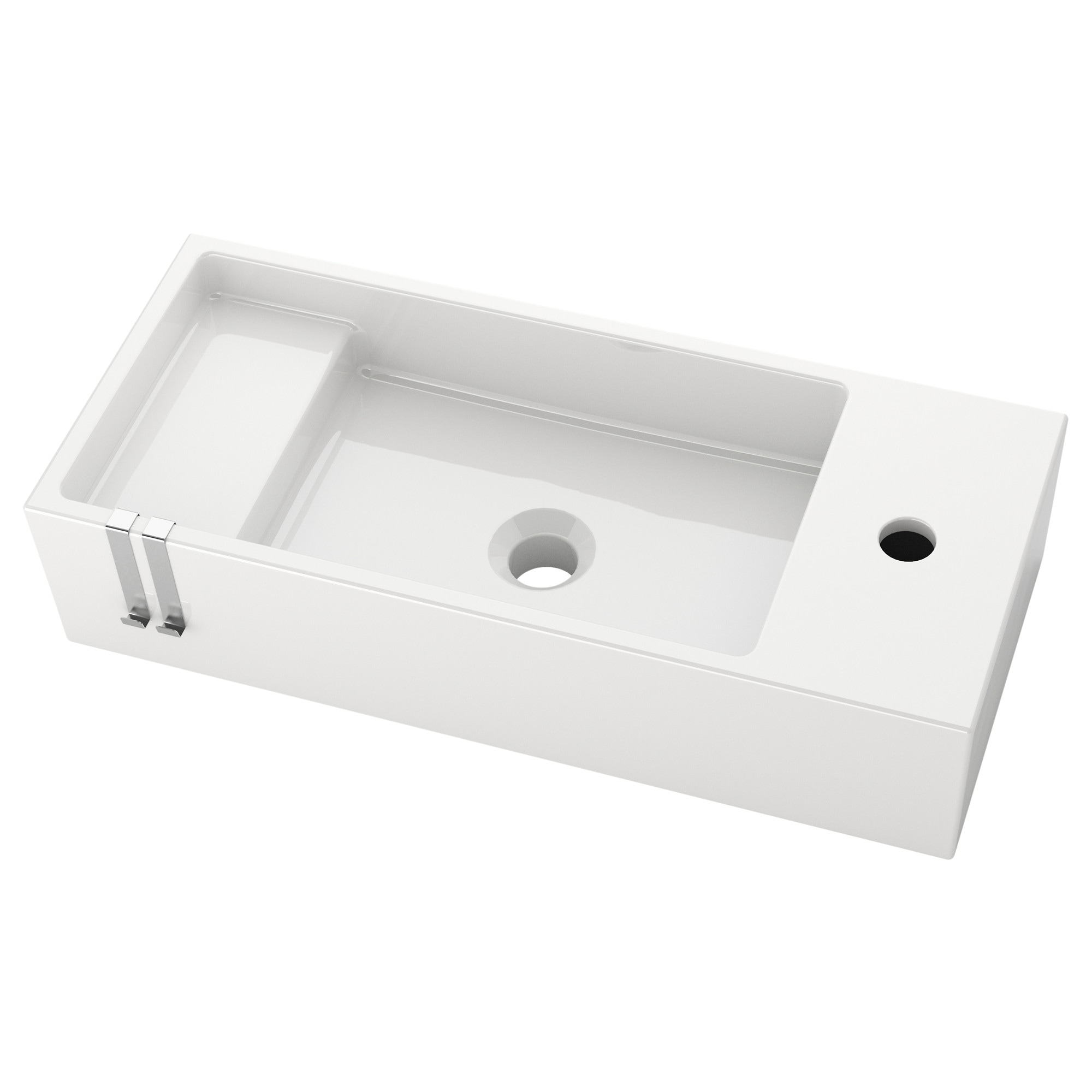 "Bathroom Sinks Ikea lillÅngen sink - 23 5/8x10 5/8x5 1/2 "" - ikea"