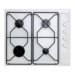 LAGAN HGA4K gas hob, white