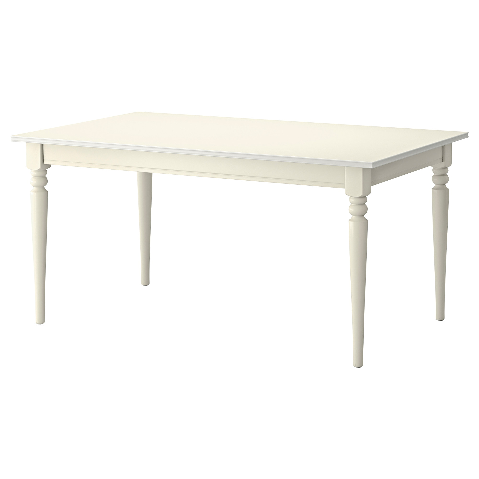 INGATORP extendable table, white Length: 61