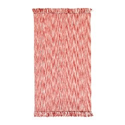 LAPPLJUNG rug, flatwoven, red Length: 150 cm Width: 80 cm Area: 1.20 m²