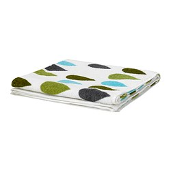 "SKÄRET bath sheet, multicolor Length: 59 "" Width: 39 "" Surface density: 1.25 oz/sq ft Length: 150 cm Width: 100 cm Surface density: 380 g/m²"