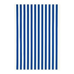 SOFIA fabric, bright blue, broad-striped Width: 150 cm Pattern repeat: 64 cm
