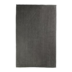TOFTBO bath mat, grey