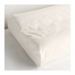 SÖMNIG pillowcase for memory foam pillow, white Length: 35 cm Width: 59 cm
