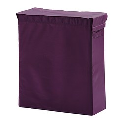 SKUBB laundry bag with stand, lilac Width: 22 cm Depth: 55 cm Height: 65 cm