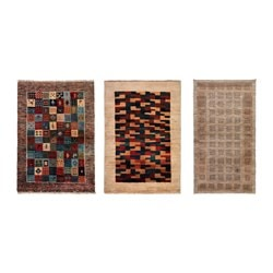 PERSISK GABBEH L rug, high pile, assorted colours handmade assorted colours