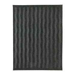 "LYNÄS door mat Length: 1 ' 8 "" Width: 2 ' 2 "" Surface density: 4 oz/sq ft Length: 50 cm Width: 65 cm Surface density: 1150 g/m²"