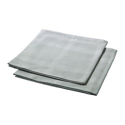 IRIS tea towel, grey Length: 70 cm Width: 50 cm Package quantity: 2 pieces