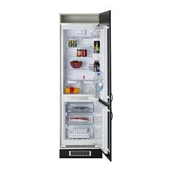 ISANDE integrated fridge/freezer A++, No Frost white Width: 54.0 cm Depth: 54.5 cm Height: 177.0 cm