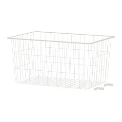 ALGOT wire basket, white