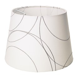 UMFORS shade, white Diameter: 23 cm