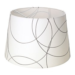 UMFORS shade, white Diameter: 34 cm