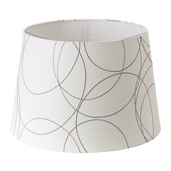 UMFORS shade, white Diameter: 45 cm