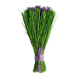 "DOFTA dried bouquet, lavender, scented Height: 9 "" Net weight: 1 oz Height: 23 cm Net weight: 40 g"
