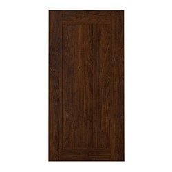 EDSERUM door, wood effect brown Width: 39.7 cm System, height: 80.0 cm System, width: 40.0 cm