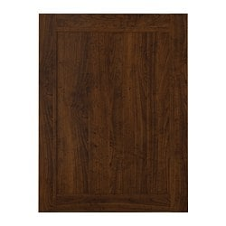 EDSERUM door, wood effect brown Width: 59.7 cm System, height: 80.0 cm System, width: 60.0 cm
