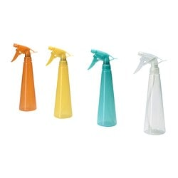 "TOMAT spray bottle, assorted colors Height: 9 ¾ "" Volume: 12 oz Height: 25 cm Volume: 35 cl"