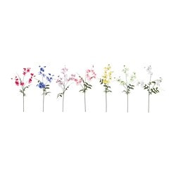 SMYCKA artificial flower, Sweet pea assorted colours Height: 55 cm
