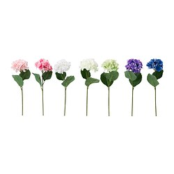 "SMYCKA artificial flower, Hydrangea assorted colors Height: 23 ½ "" Height: 60 cm"